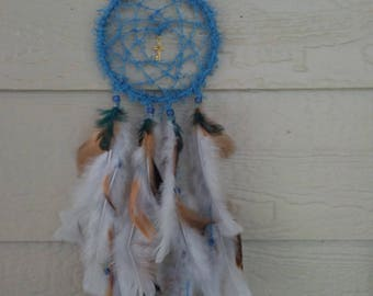 Cross of Gold Dream Catcher