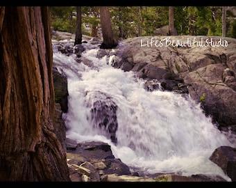 Emerald Bay Waterfall