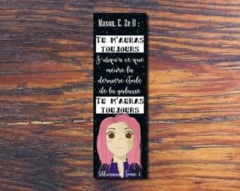 Illuminae bookmarks / bookmark Kady Ezra
