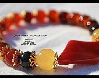 Root charka bracelet