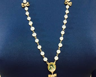 Rosary necklace type