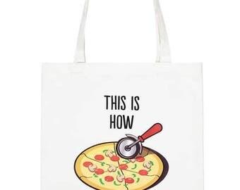 Pizza Pizza Tote Bag