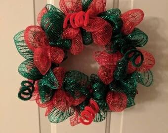 """8"""" Christmas wreath"""