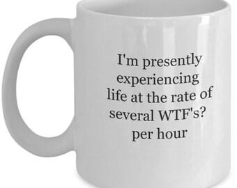 wtf gift, funny coffee mug, wtf funny, wtf indeed, funny coffee mug, funny mug, coffee cup, coffee mugs, coffee humor mugs, coffee mugs