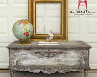 SOLD Cedar Chest or Coffee Table