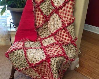 Christmas Rag Quilt