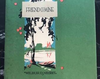 Friend O'Mine Copyright 1925