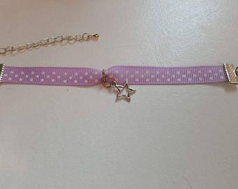 Ribbon star bracelet