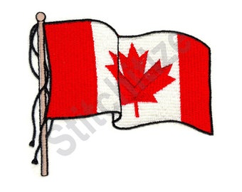 Canadian Flag - Machine Embroidery Design