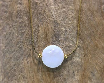 Necklace| mother pearl