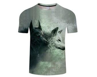Wolf Shirt, Wolf Shirts, Wolf Tee Shirt, Wolf Tshirt, Wolves Shirt, Wolf T-shirt, Wolf, Wolves, Wolves Tshirt, Shirt, Wolf Tee - Style 20