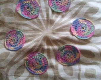 Coaster Multicolor