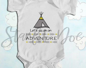 Adventure Baby Bodysuit | Baby clothes | Infant clothes | baby shower gift | coming home outfit | baby girl clothes | baby boy clothes
