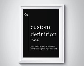 Custom definition etsy custom definition customized gift personalized gift modern gift name definition personalized stopboris Choice Image