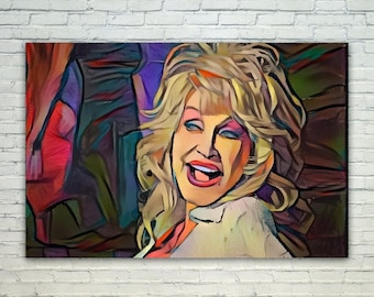 Dolly Parton - Dolly Parton Art,Dolly Parton Canvas,Dolly Parton Print,Dolly Parton Poster,Dolly Parton Merch,Dolly Parton Gift,Dolly