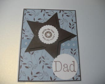 Star Father's Day Card