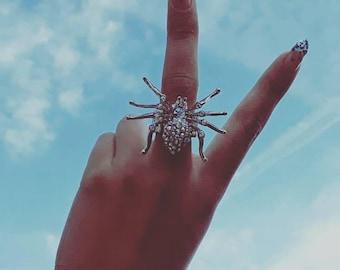 Spider Dazzle Ring