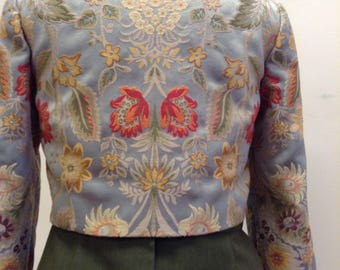 Custom brocade fabric