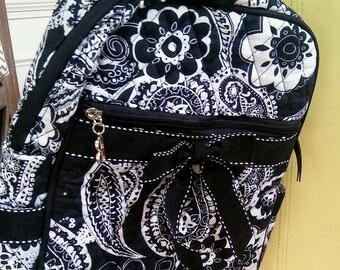 Nike Backpack, Nike black/white backpack, black and white backpack, backpack, Nike backpack/purse