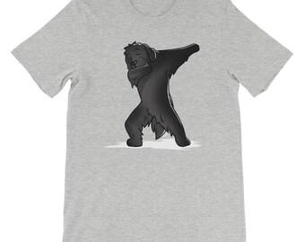 Cute Dabbing Newfoundland T-Shirt Funny Newfie Dog Gift