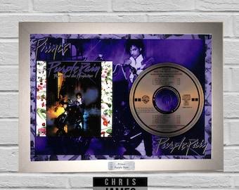 Prince - CD Frame Presentation Memorabilia Purple Rain