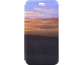 Flip Cover Case for iPhone by Father Heaven - Fiery Sky 9
