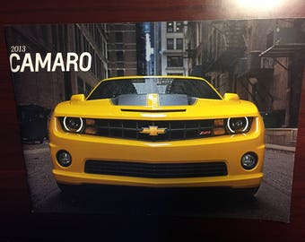 2013 Chevy Camaro SS ZL1 coupe convertible Z06 ZR1 dealership Brochure