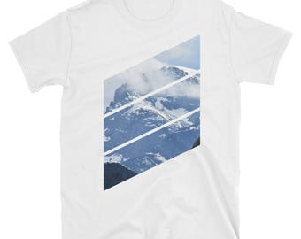 Shirtography: Mountain Diagonals Short-Sleeve