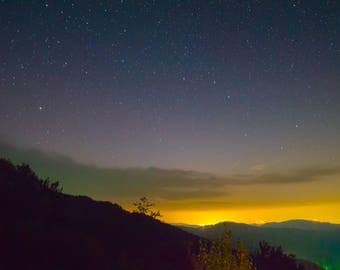 Roan Mtn, Tennessee at Night - Astrophotography, Night Photography