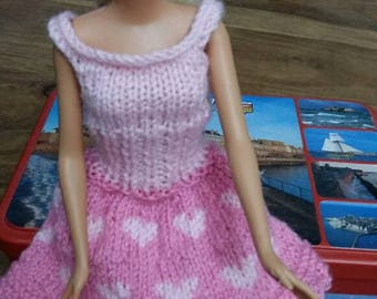 barbie doll dress for valentine's day