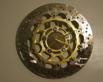 Sprockclock Brake Disc Gold