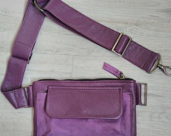 Leather women's belt bag, Fanny Pack, Leather Fanny Pack, Waist Bag, Belt Bag, Hip Bag, Leather belt bag, Leather Waist Bag,Modern bag