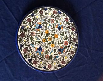 Beautiful Handpainted Decorative Plate