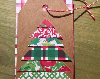 Christmas Gift Card Holder: Christmas Tree (Variety Packs Available)