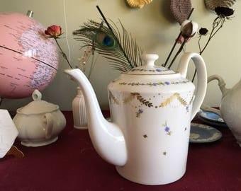 Blue Flower Merian Tea pot