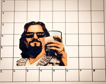 Big Lebowski Sticker / The Dude - Vinyl Sticker / Decal