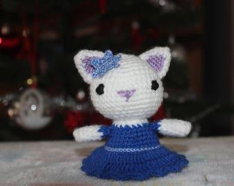 Cat Crochet Toy