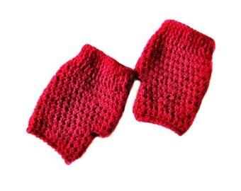 Fingerless mittens - Crochet mittens - Hand warmer - Crochet gloves - Wrist warmer - Fingerless gloves - Winter gloves - Women's gloves