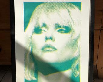 Screen Print Debbie Harry Blondie