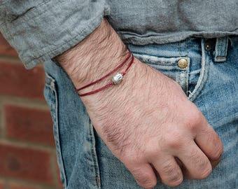 Buddha bracelet Protection bracelet handmade of cod, adjustable homme bracelet femme bracelet an everyday bracelet Gift for her Gift for him