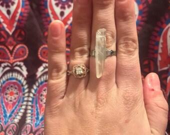 Quartz Crystal Ring