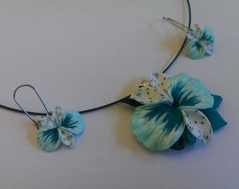 Ornament orchis Turquoise