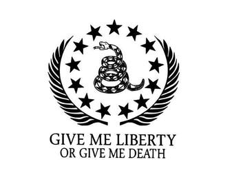 Give Me Liberty or Give Me Death Graphic
