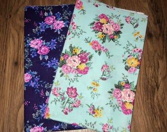 Spring fever dog bandana- reversible dog bandana- over the collar dog bandana