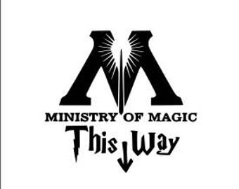 ministry of magic svg file