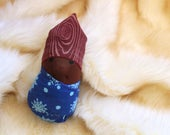 Calming Holiday Gift for Kids - Waldorf Baby Doll - Pretend Play - For Toddlers - For Preschoolers - African American - Aromatherapy