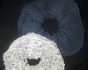 Chunky Sweater Scrunci or Scrunchie Hair Tie for all Hair Types