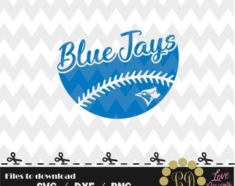 Blue Jays Ball svg,png,dxf,cricut,silhouette,jersey,shirt,proud,birthday,invitation,sports,cut,baseball,softball, toronto,ontario