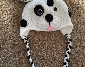 Puppy Crocheted Hat
