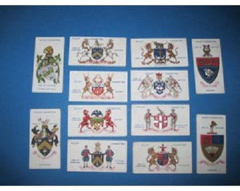Will's Arms of Companies cards